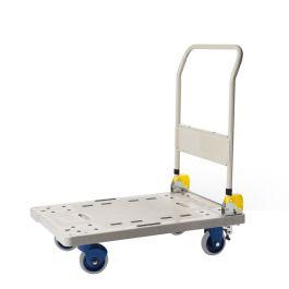 Einklappbarer Plattformwagen von Prestar aus Plastik, Tragfähigkeit 300 kg