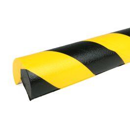 PRS-Eckschutz, Modell 4 - schwarz-gelb - 1 Meter