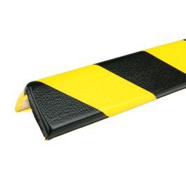 PRS-Eckschutz, Modell 8 - schwarz-gelb - 1 Meter