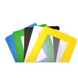 ColorCover selbstklebende, transparente Dokumentenfenster für den Boden (10 Stück)