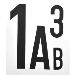 Magnetische Buchstaben & Zahlen (pro Stück)