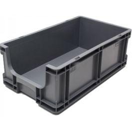 Stapelbehälter 260x505x165 mm mit Grifföffnung