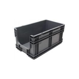 Stapelbehälter 260x505x210 mm mit Grifföffnung