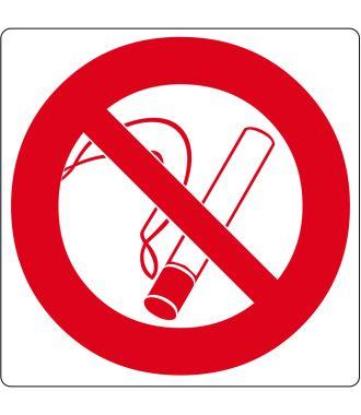 """Bodenpiktogramm für """"Rauchen verboten"""""""
