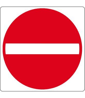 """Bodenpiktogramm für """"Kein Eingang"""""""