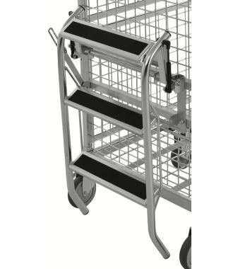 Kongamek zusammenklappbare Trittleiter für KM9000 Etagenwagen