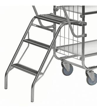Kongamek zusammenklappbare Trittleiter für KM8000 Etagenwagen