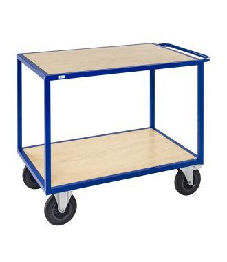 Kongamek Tischwagen mit Holzplattformen, Traglast 500 kg
