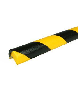 PRS Eckschutz, Modell 1 - schwarz-gelb - 1 Meter