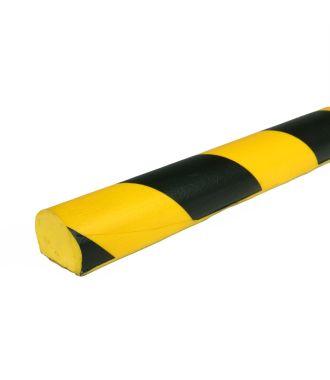 PRS-Schutz für flache Oberflächen, Modell 3 - schwarz-gelb - 1 Meter