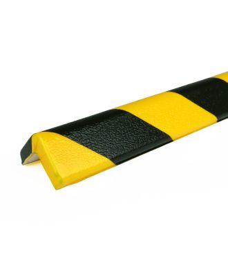 PRS-Eckschutz, Modell 7 - schwarz-gelb - 1 Meter