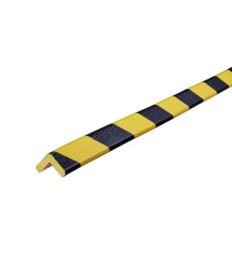 Knuffi Eckschutz, Typ E - schwarz-gelb - 5 Meter