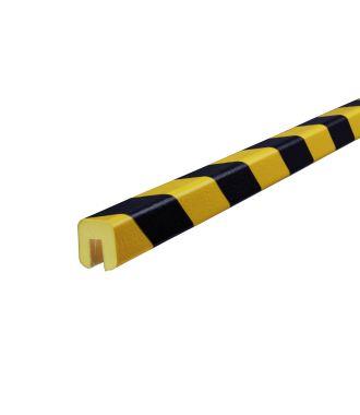 Knuffi Kantenschutz, Typ G - schwarz-gelb - 5 Meter