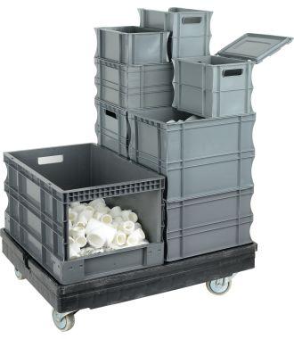 Stapelbehälter aus Kunststoff