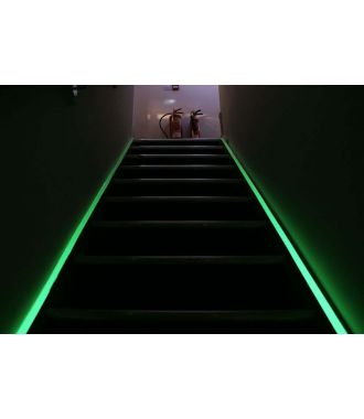 Glow-in-the-Dark-Klebeband zur Kennzeichnung von Fluchtwegen