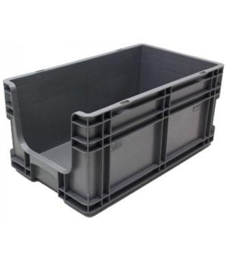 Stapelbehälter 295x505x235 mm mit Grifföffnung