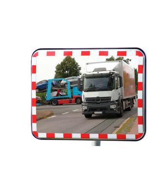 Verkehrsspiegel mit Reflektoren UNI-SIG