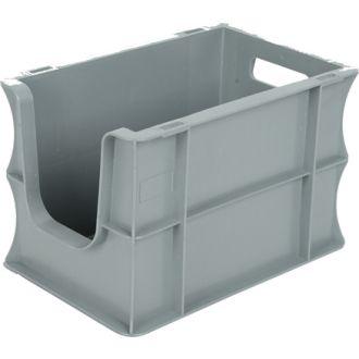 Stapelbehälter Eurobox 200x300x200 mm mit Grifföffnung