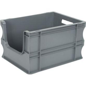 Stapelbehälter Eurobox 300x400x235 mm mit Grifföffnung