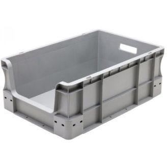 Stapelbehälter Eurobox 400x600x230 mm mit Grifföffnung