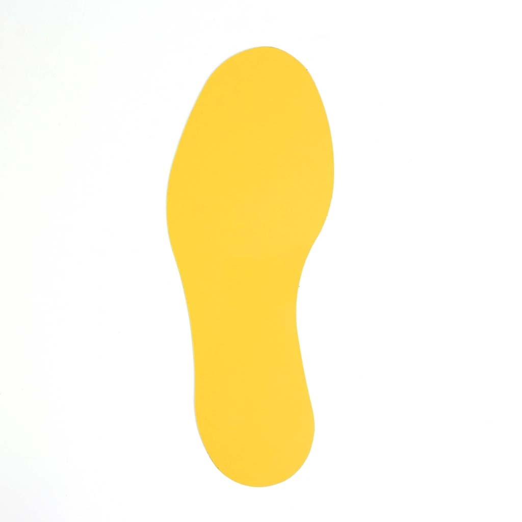 Fußabdruck Zur Bodenmarkierung