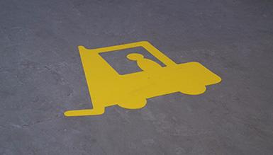 Fahrzeuge von Fußgängern trennen